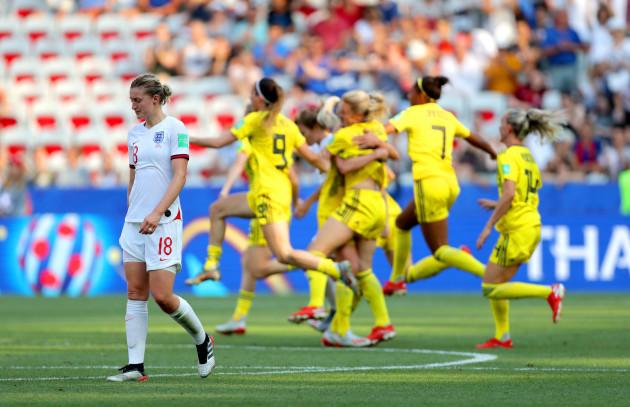 England v Sweden - FIFA Women's World Cup 2019 - Third Place Play-Off - Stade de Nice