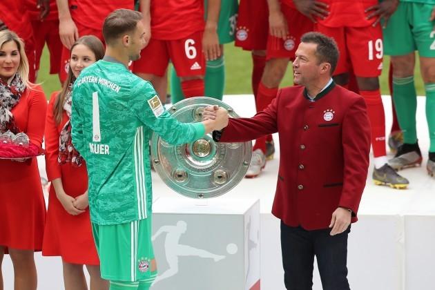 Munich, 18.05.2019, firo, football, 1.Bundesliga, season 2018/2019, FCB, Bayern Munich - Eintracht Frankfurt