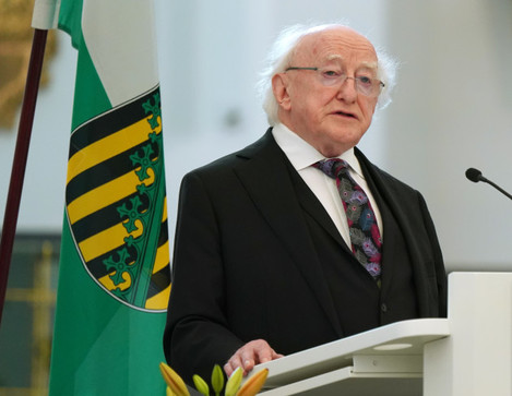President of Ireland on a State Visit