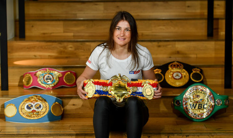 Sky VIP event with Katie Taylor