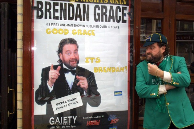 File Photo Brendan Grace Has Died. End.