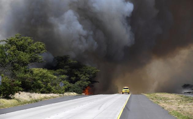 Maui Brush Fire