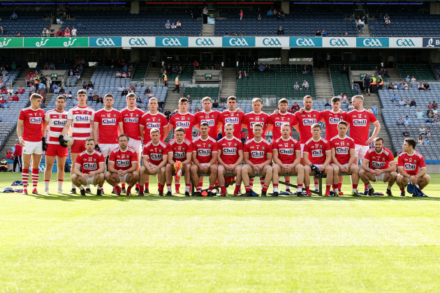 The Cork team