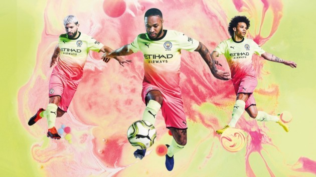 low priced 1e1fc 607ce Man City release bright yellow and pink kit ahead of the new ...
