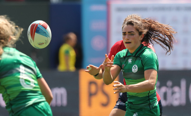 Ireland's Lucy Mulhall