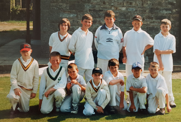 U13 Rush 1997, Eoin Morgan (front row 2nd from left)