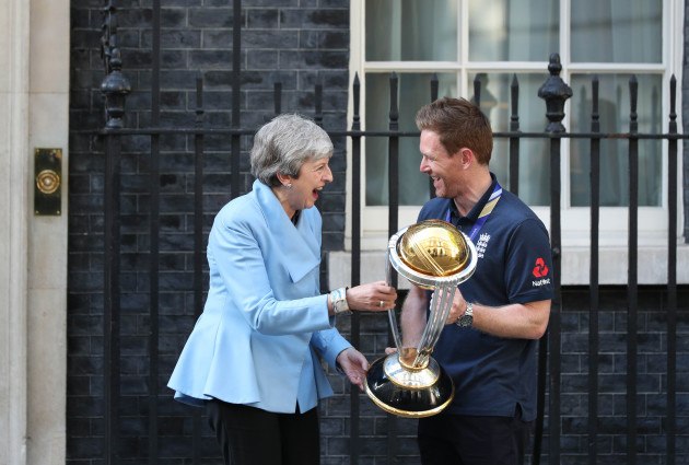 England ICC World Cup Champions Celebrations - Downing Street