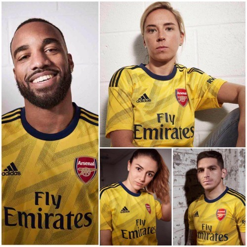 New Arsenal away strip