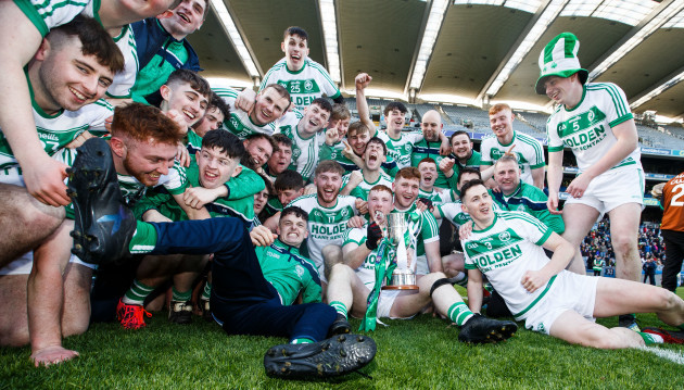 Ballyhale Shamrocks celebrate after the game