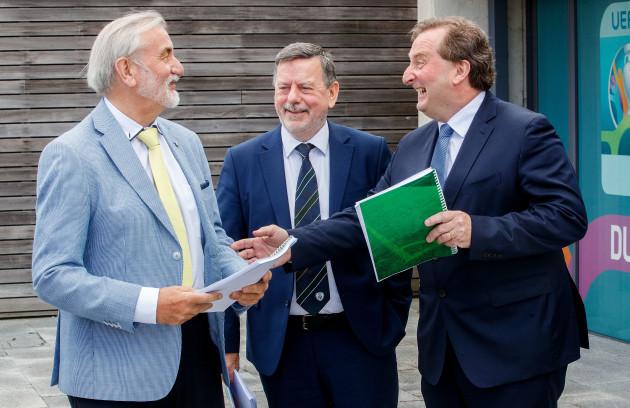 Kieran Mulvey, Donal Conway and Aidan Horan