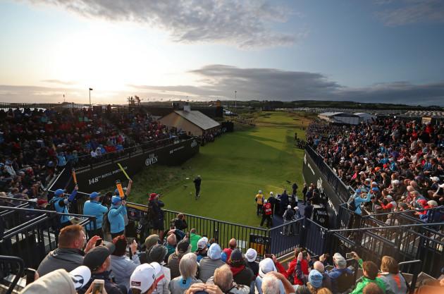 The Open Championship 2019 - Day One - Royal Portrush Golf Club