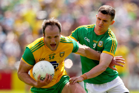 Shane McEntee with Michael Murphy