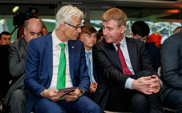 Ruud Dokter with Stephen Kenny