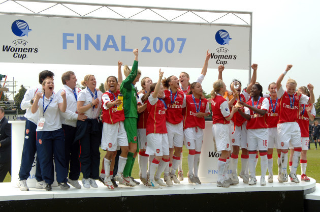 Soccer - UEFA Women's Cup - Final - Second Leg - Arsenal v Umea IK - Borehamwood
