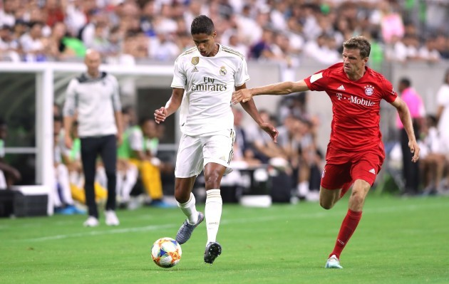 firo: 20.07.2019 Football, Football: 1. Bundesliga, Audi Summer Tour USA Real Madrid, Test match, Test, Friendly match versus FC Bayern Munich, Audi Summer Tour USA 2019, International Champions Cup