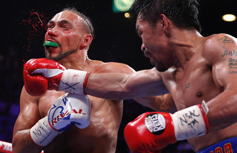 Pacquiao Thurman Boxing