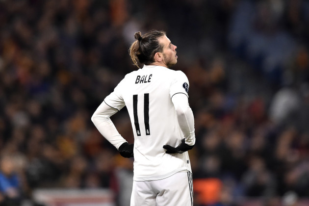 Roma vs Real MadridUEFA Champions League27/11/2018.