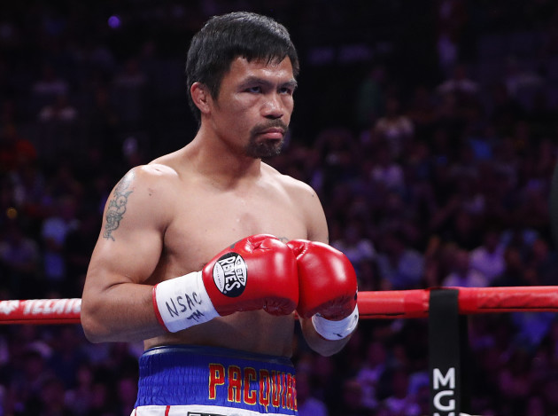 Pacquiao Thurman Boxing