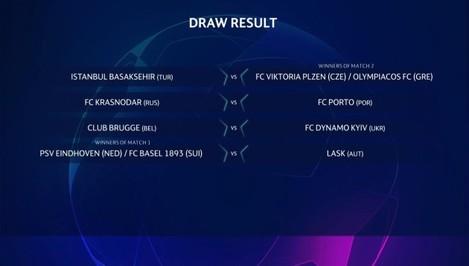CL third qualifying round draw 2