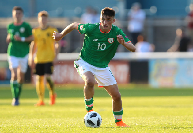 Republic of Ireland v Belgium - UEFA European U17 Championship - Group C - Loughborough University Stadium
