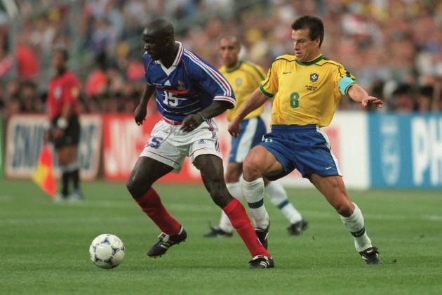Soccer - World Cup France 98 - Final - Brazil v France