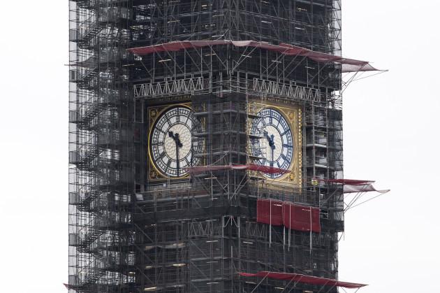 BRITAIN-LONDON-BIG BEN-BELL-160TH ANNIVERSARY