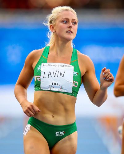 Sarah Lavin after her semi-final
