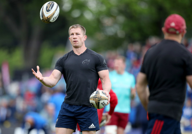 Jerry Flannery before the game