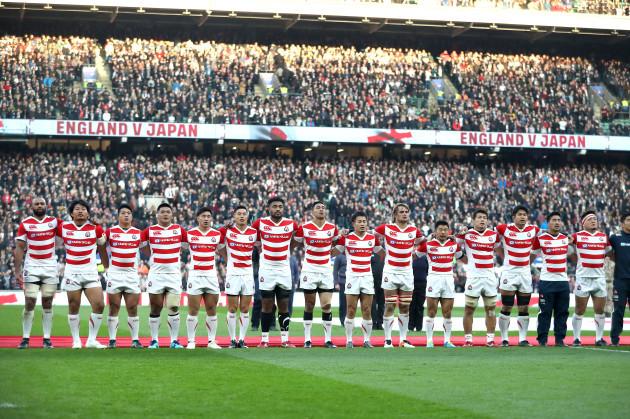 England v Japan - Quilter International - Twickenham Stadium