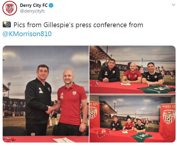Grant Gillespie tweet
