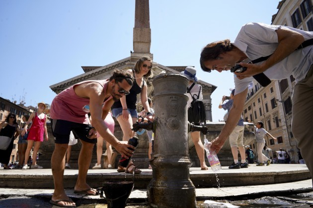 Italy Europe Heatwave