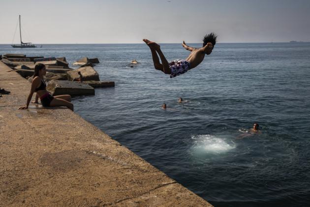 Spain Europe Heatwave