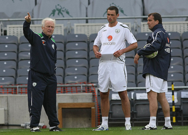 Soccer - Republic of Ireland Training Session - Croke Park