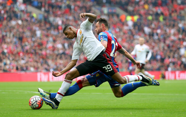 Crystal Palace v Manchester United - Emirates FA Cup - Final - Wembley Stadium