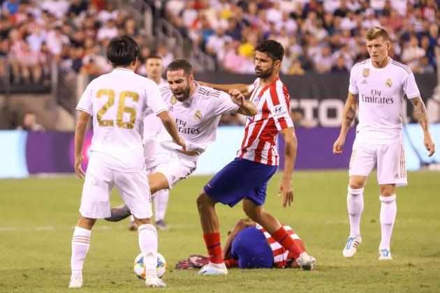 Partida entre Real Madrid e Atlético de Madrid nos Estados Unidos