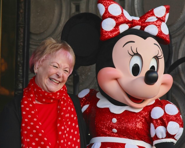 CA: Disney's Leading Lady Minnie Mouse Celebrates Her 90th Anniversary With Star On The Hollywood Walk Of Fame