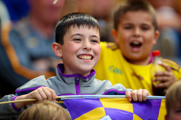 Wexford fans at the game