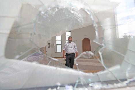 Ahmadiyya Mosque break-in