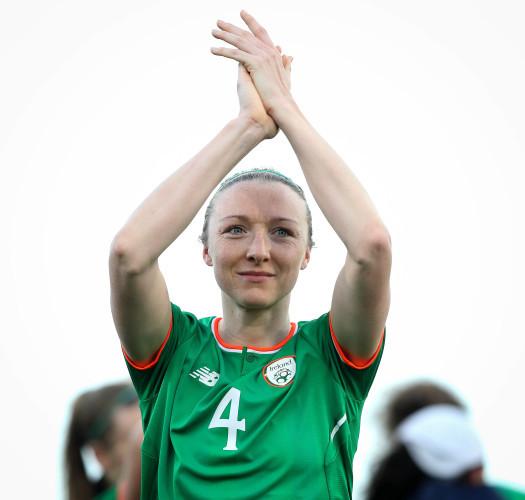 Louise Quinn celebrates