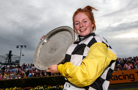 Jody Townend after winning with Great White Shark