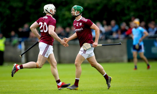 Joe Canning comes on as a sub