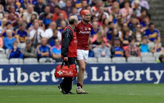 Joe Canning injured