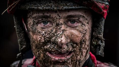 Mark Enright after riding Make it Hurrah