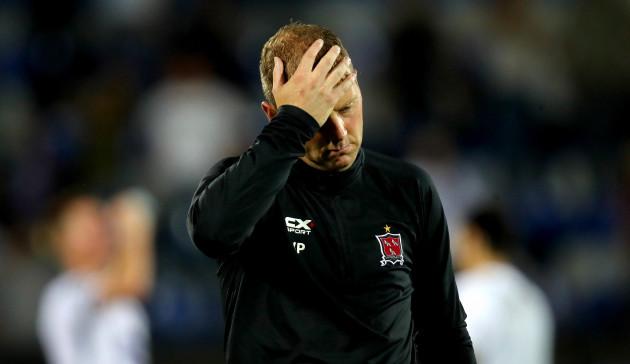 Vinny Perth dejected