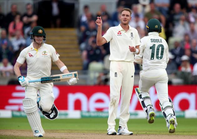 England v Australia - First Test - Day One - 2019 Ashes Series - Edgbaston