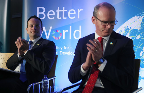 Government launch of Ireland's new Policy for International Development