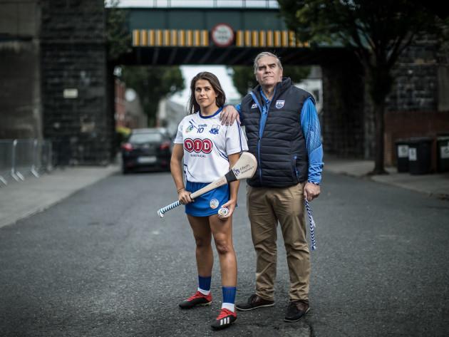 Niamh Rockett with her father Eddie Rockett