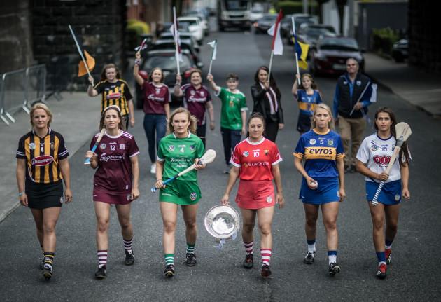 Edwina Keane, Caitriona Cormican, Marian Quaid, Amy O'Connor, Clodagh Quirke and Niamh Rockett