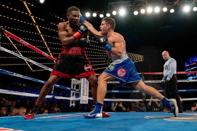 BOXING 2018 - Danny Jacobs Defeats Sergiy Derevyanchenk by Split Decision