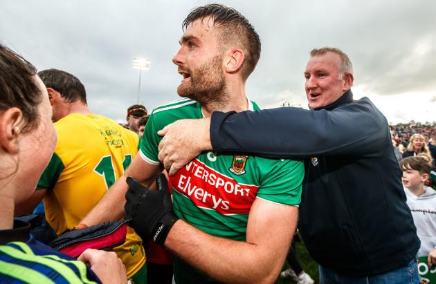 Aidan O'Shea celebrates